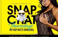 "Grand Opening ""Snapchat Thursdays"""