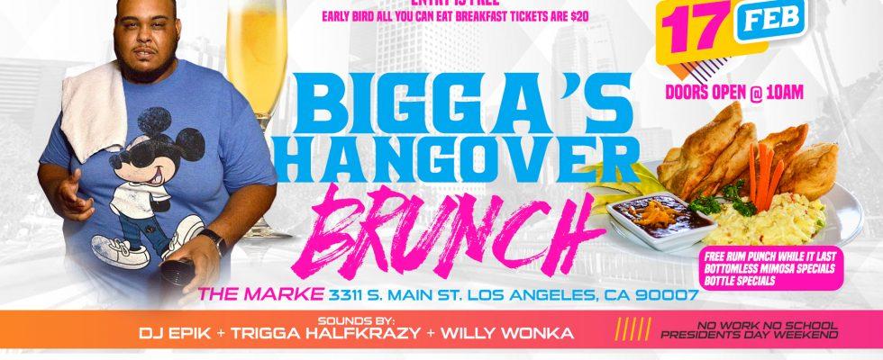BIGGA'S Hangover Brunch