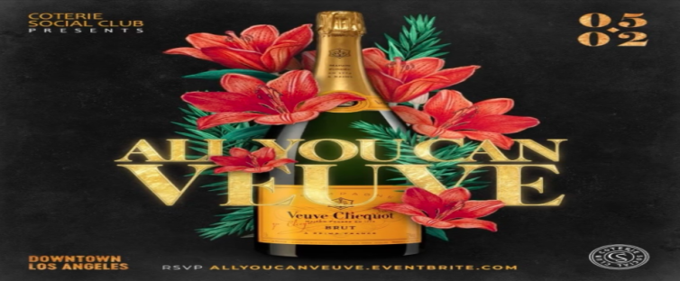 ALL YOU CAN: VEUVE